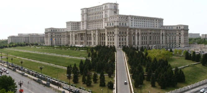 Bucharest, The Parliament, among the largest buildings in the world