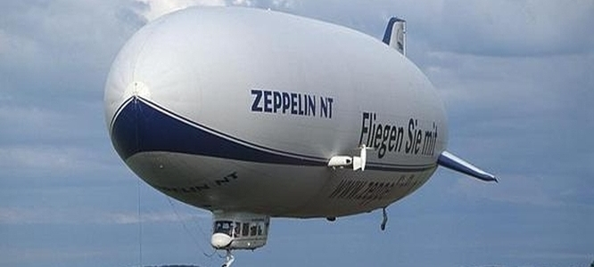 Zeppelin NT Flight